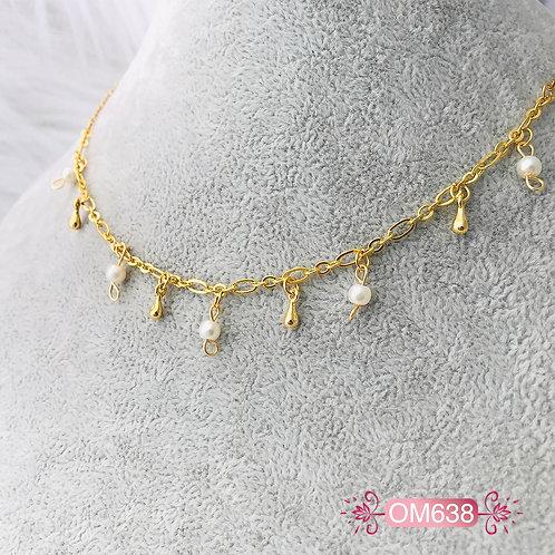 OM638- Collar en Oro Goldfield