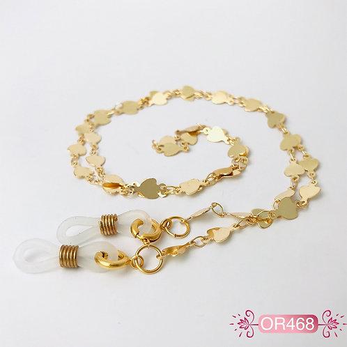 OR468 - Cadena para Gafas en Oro Goldfield