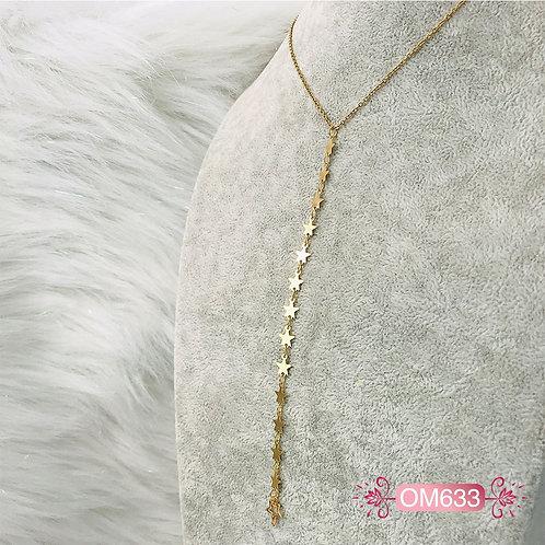OM633- Collar en Oro Goldfield