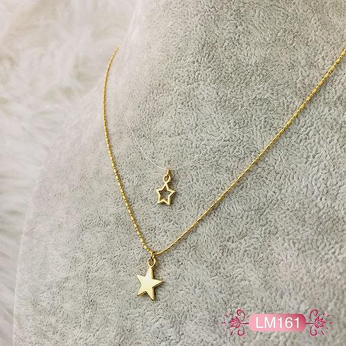 LM161-Collar en Oro Goldfield