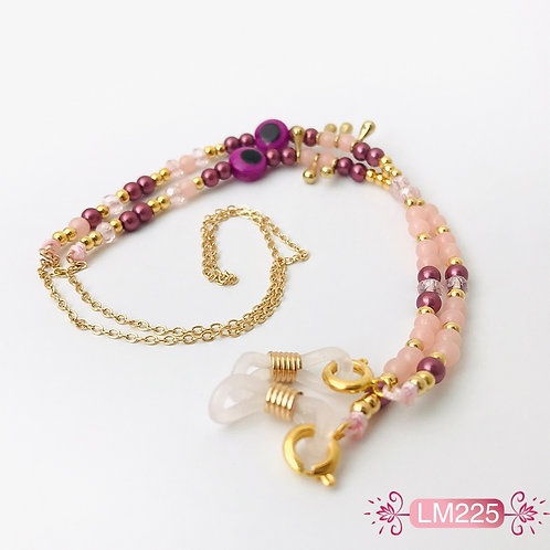 LM225 - Collar para gafas en Oro Goldfield