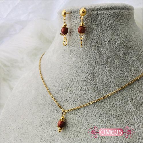 OM635- Collar en Oro Goldfield