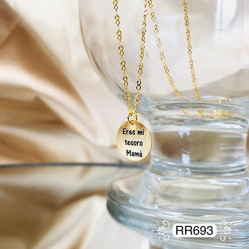 RR693 - Collar en Oro Goldfield