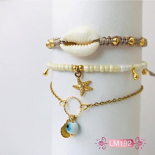 LM192 - Collar en Oro Goldfield