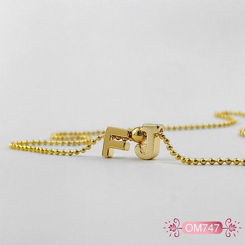 OM747 - Collar en Oro Goldfield