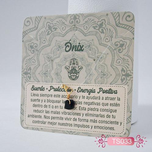 TS033 Collar Invisible -Onix