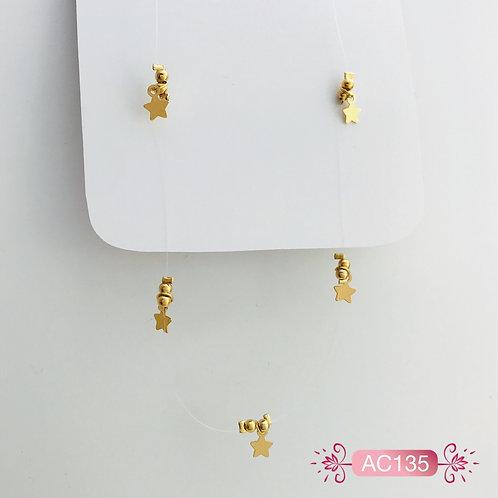 AC135-Collar en Oro Goldfield