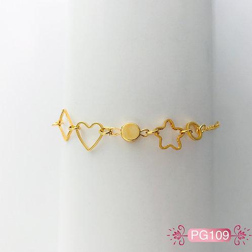 PG109 - Pulsera en Oro Goldfield