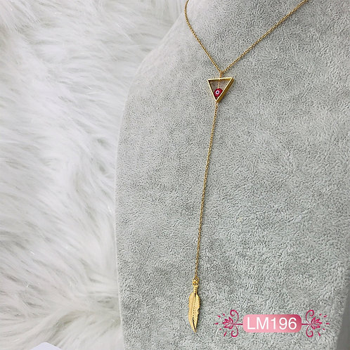 LM196 - Collar en Oro Goldfield
