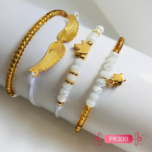PR300-Pulseras en Oro Goldfield
