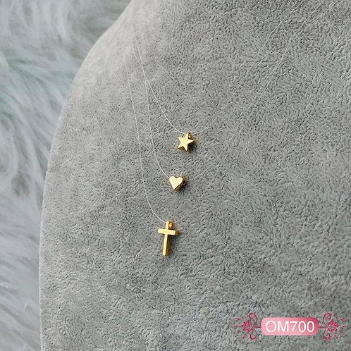 OM700- Collar en Oro Goldfield