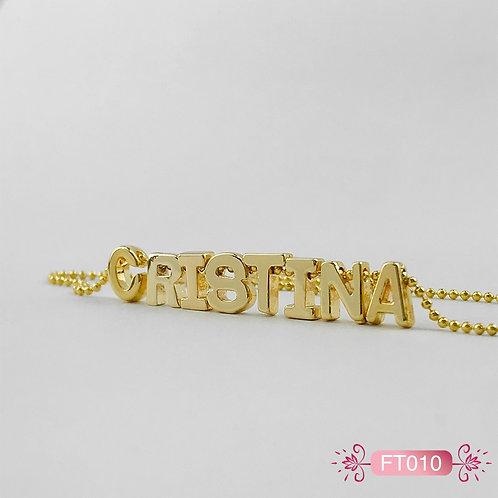 FT010- Collar Oro Goldfield