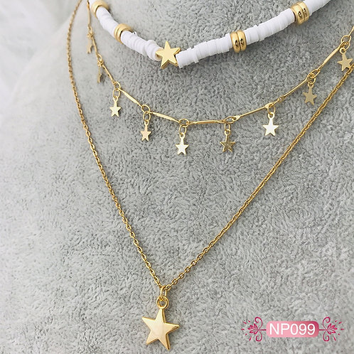 NP099 - Collar en Oro Goldfield