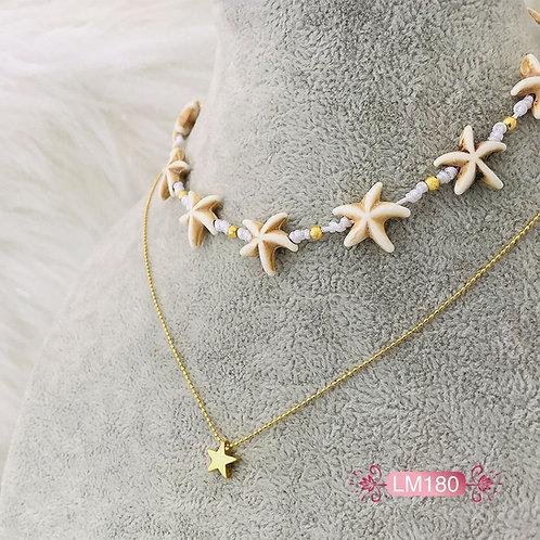 LM180 - Collar en Oro Goldfield