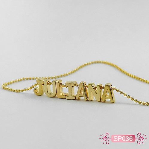 SP036- Collar en Oro Goldfield