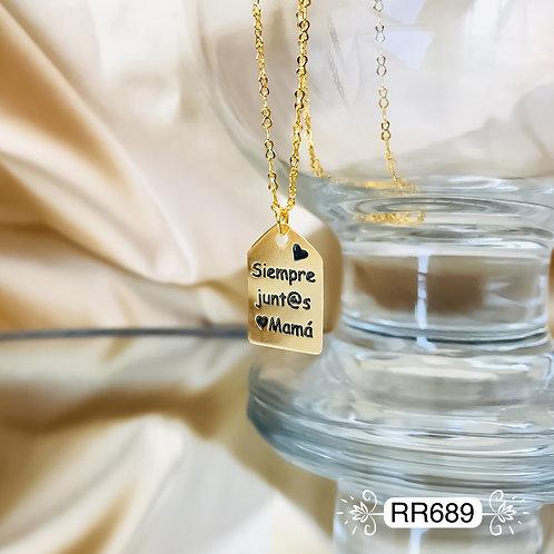 RR689 - Collar en Oro Goldfield