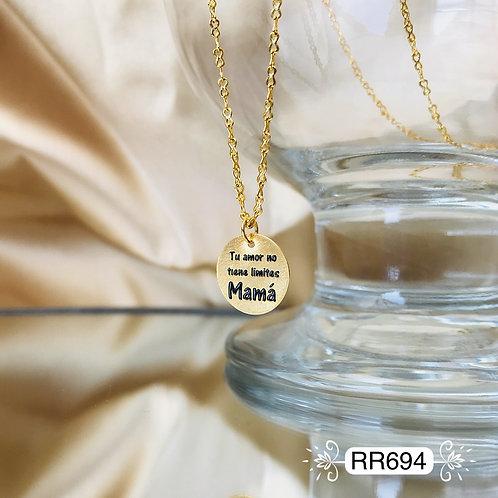 RR694 - Collar en Oro Goldfield
