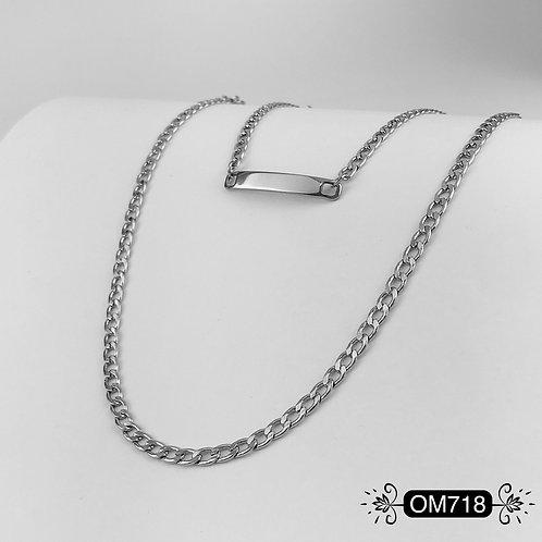 OM718 - Cadena y Pulsera Hombre
