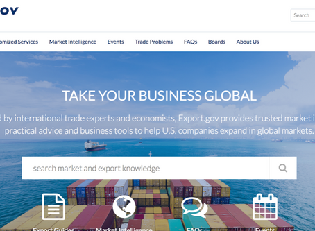 Creating a Web Strategy for the International Trade Administration