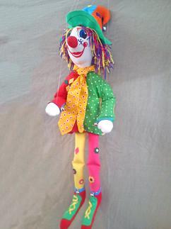 Marioneta Payaso de hilos