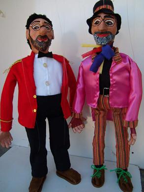 Marionetas Hat y Trasto