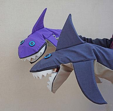 Títeres de tiburón