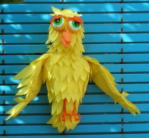 Títere pájaro