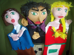 Títeres Hansel Gretel y Bruja