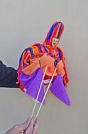 Marioneta Talía de mano