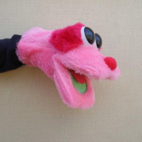 Títere bocon rosa con fuxia