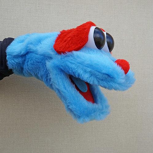 Títere bocón azul