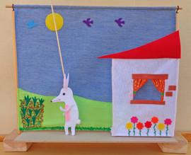 Teatrillo El pequeño conejo blanco