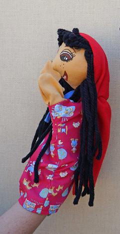 Marioneta Caperucita