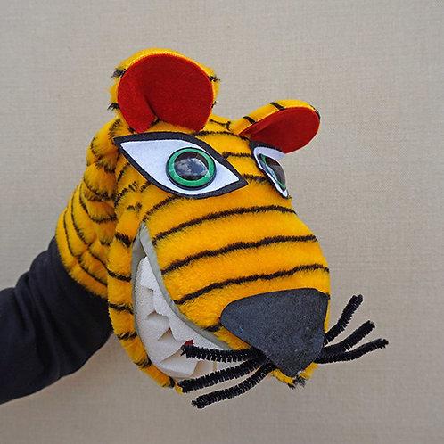 Títere de tigre rayado