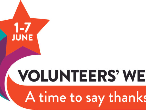Volunteers' Week 2021 - A Time To Say Thanks!