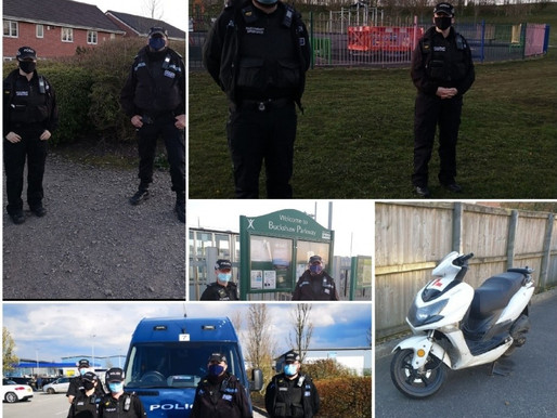 A community update from Chorley Police