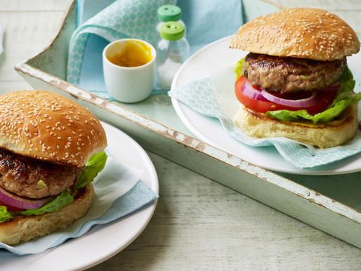 Friends of...Food! - Pork & Apple Burgers