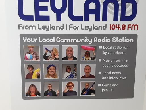 Think Local, Think 104.8 FM - Radio Leyland