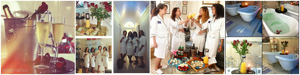 weston florida Spa group specials packages bath fun champagne