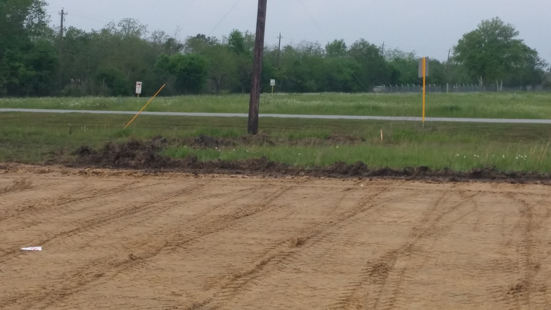 pad site layout