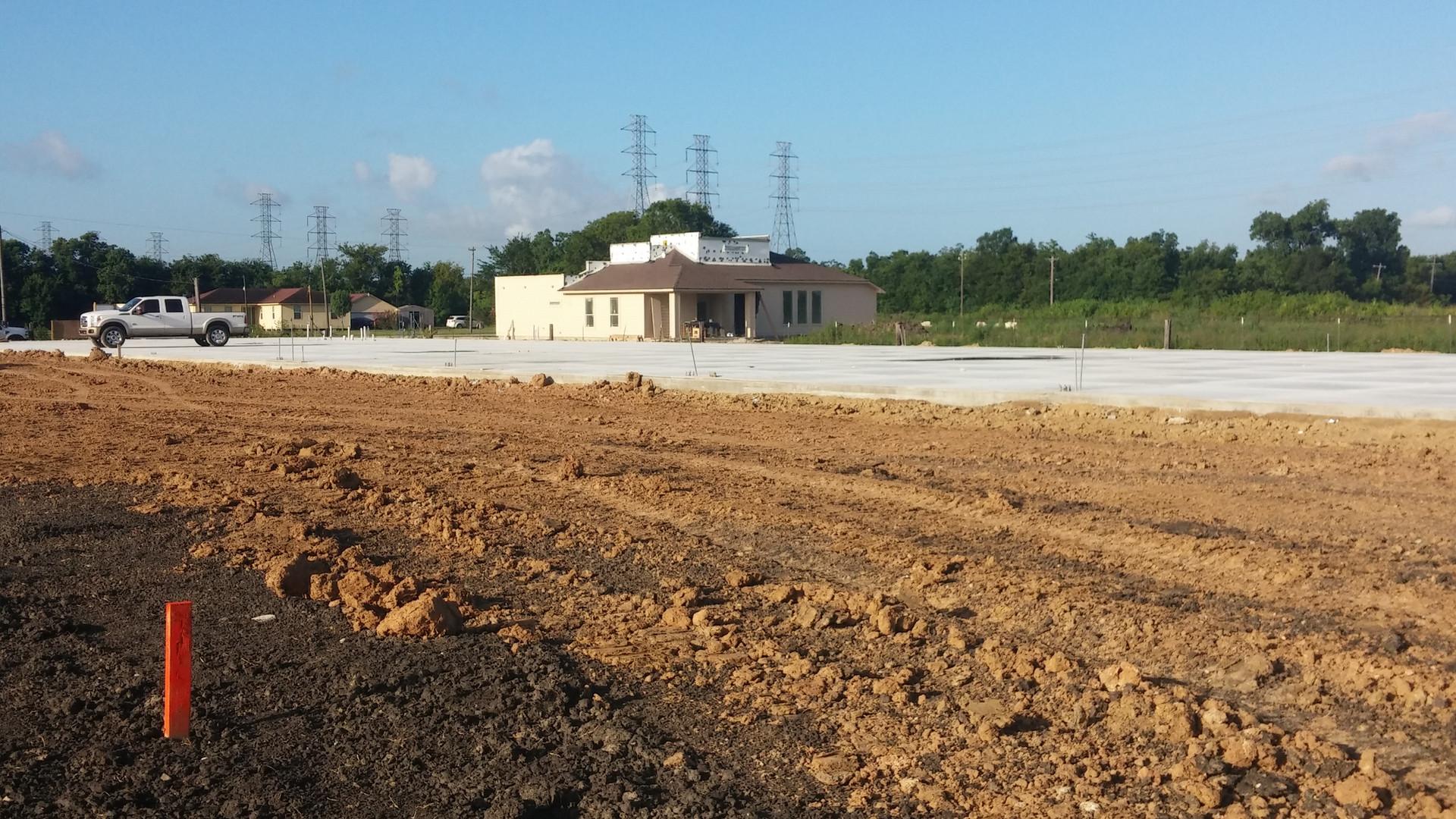 concrete and storm drainage
