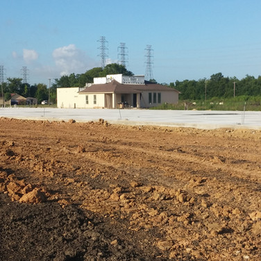 concrete foundation/pad
