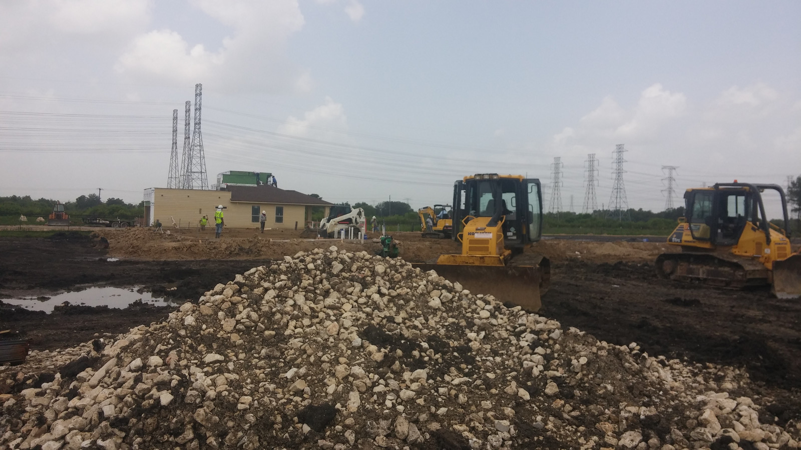 Dirt Work Amp Land Clearing Houston Tx Aww Services
