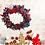 Thumbnail: Fabric Fantacy Christmas wreath |Christmas Decorations