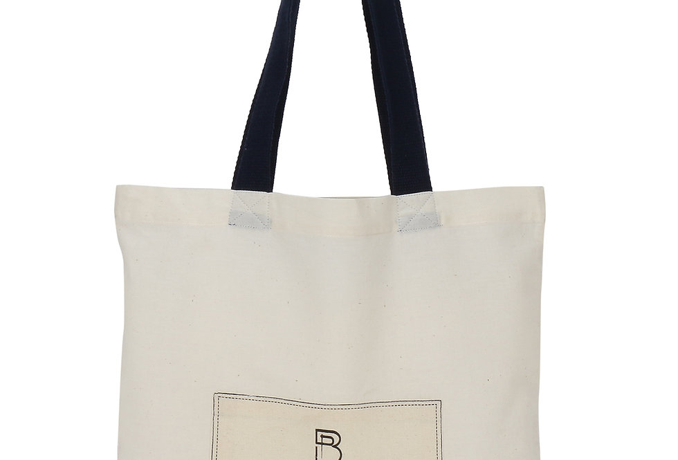 Patch Cotton Carry Bag