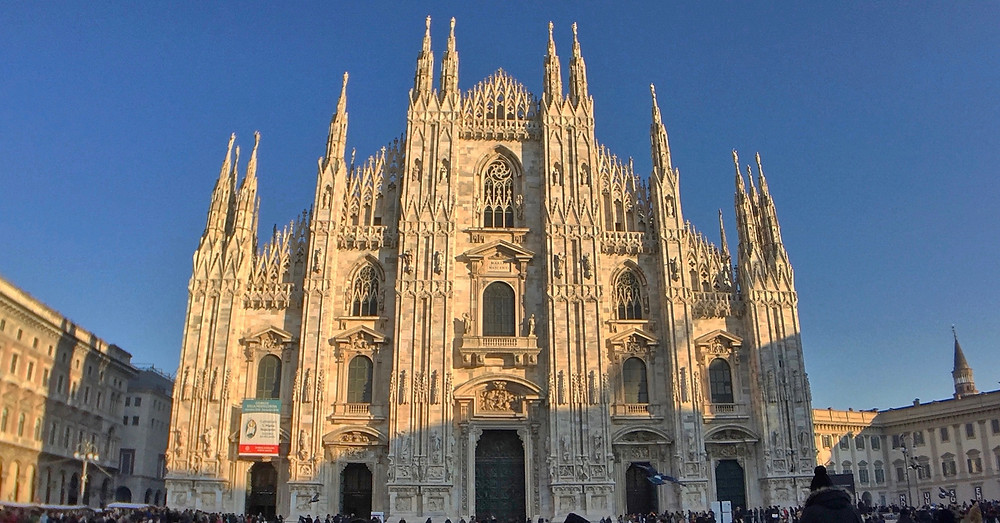 The cathedral church of Milan, Lombardy, Italy.