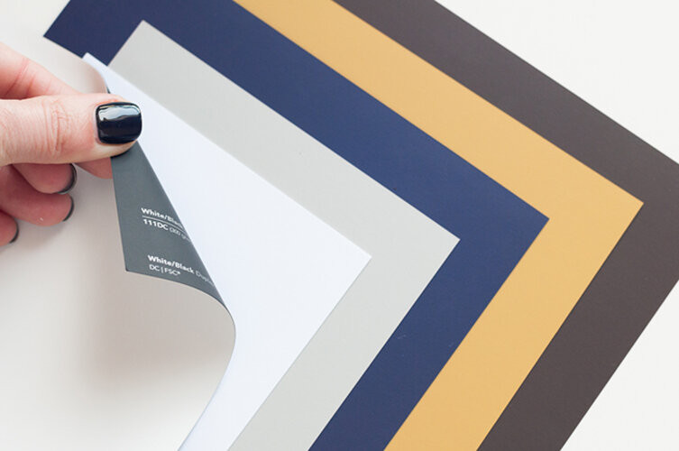 бумага Touch cover для визиток