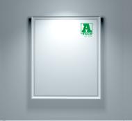 тонкая световая рекламная панель, цена