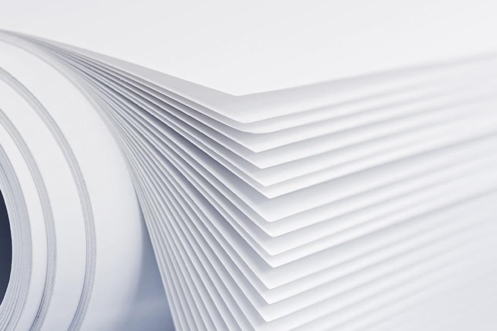 мелованная бумага для визиток