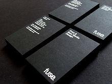 печать белилами визитки